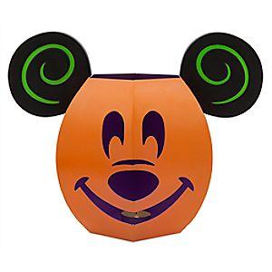 Mickey Mouse Jack OLantern Luminary Tin