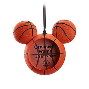 Mickey Mouse Icon Basketball Ornament Frame