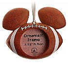 Mickey Mouse Icon Football Ornament Frame