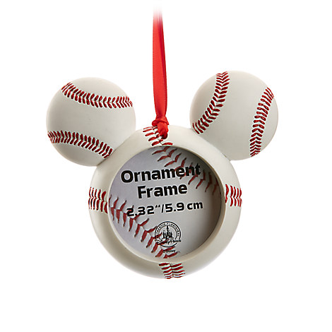 Mickey Mouse Icon Baseball Ornament Frame