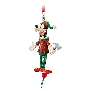 Goofy Articulated Figural Ornament