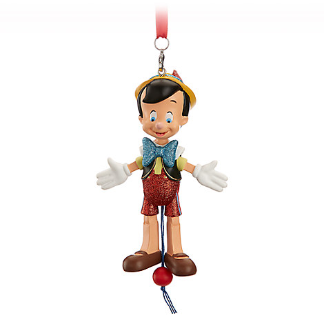 Pinocchio Articulated Figural Ornament