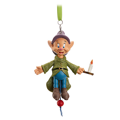 Dopey Articulated Figural Ornament