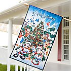 Disney Parks Storybook Holiday Flag