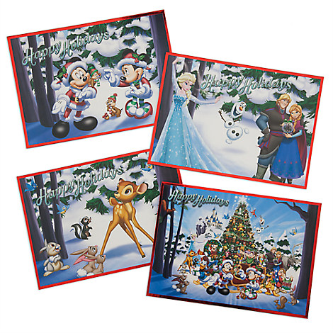 Disney Parks Storybook Card Set