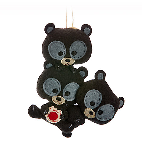 Harris, Hubert, & Hamish Disney Parks Storybook Plush Ornament - Brave