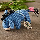 Eeyore Disney Parks Storybook Plush Ornament