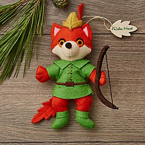 Robin Hood Disney Parks Storybook Plush Ornament