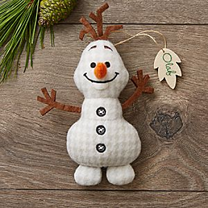 Olaf Disney Parks Storybook Plush Ornament