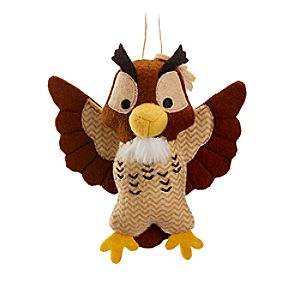 Owl Disney Parks Storybook Plush Ornament