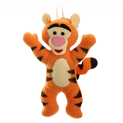 Tigger Disney Parks Storybook Plush Ornament