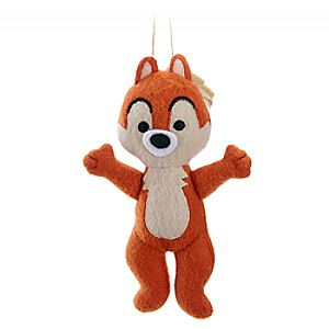 Chip Disney Parks Storybook Plush Ornament