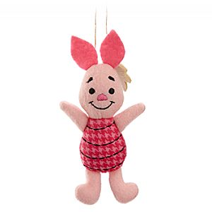 Piglet Disney Parks Storybook Plush Ornament