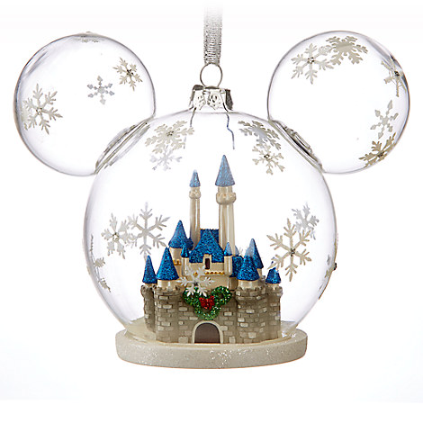 Mickey Mouse Fantasyland Castle Ornament