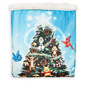 Disney Parks Storybook Fleece Throw