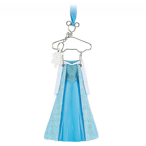 Elsa Costume Ornament - Frozen