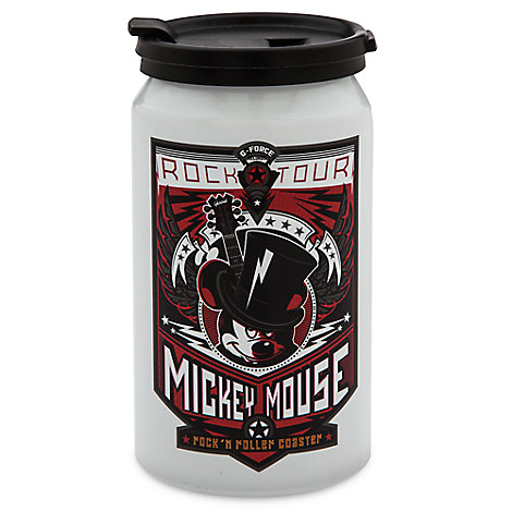 Mickey Mouse Rock 'n Roller Coaster Sip-Top Soda Can