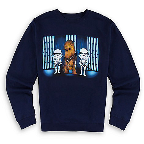 Chewbacca Fleece Sweatshirt for Adults