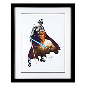 Star Wars The Force Within Limited Edition Giclée by J. Scott Campbell