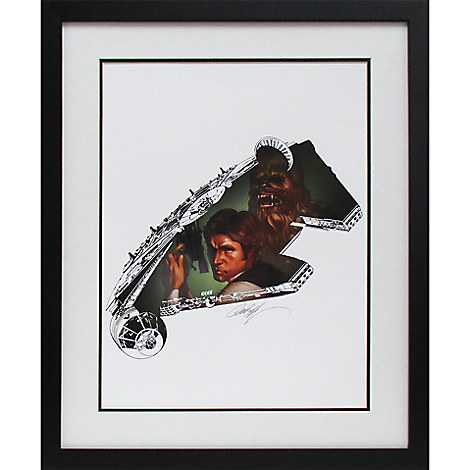 Star Wars ''The Rebel Within'' Limited Edition Giclée by J. Scott Campbell