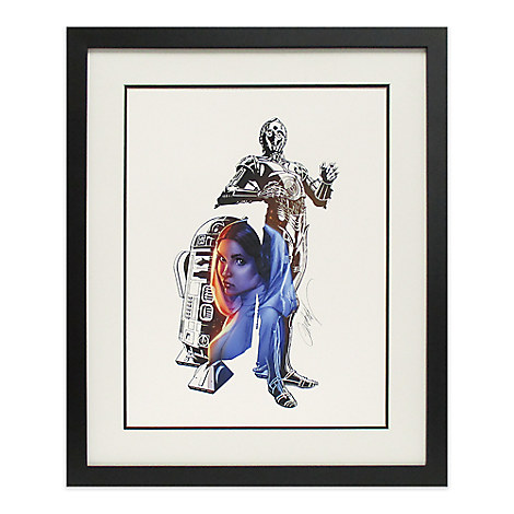 Star Wars ''The Leader Within'' Limited Edition Giclée by J. Scott Campbell