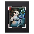 Princess Leia and R2-D2 Deluxe Print by Jasmine Becket-Griffith - Star Wars