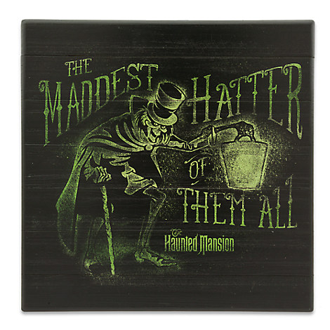 Hatbox Ghost Sign - The Haunted Mansion - Disneyland