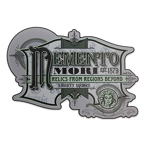 Madame Leota Memento Mori Sign - Walt Disney World