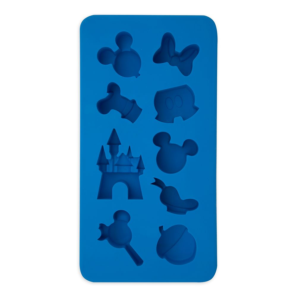 Mickey Mouse and Friends Colorful Kitchen Silicone Ice Cube Tray