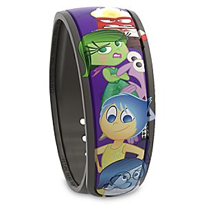 PIXAR Inside Out Disney Parks MagicBand