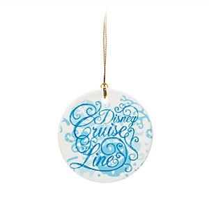 Disney Cruise Line Ceramic Disc Ornament