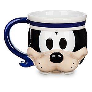 Goofy Sculptured Mug - Disney Cruise Line