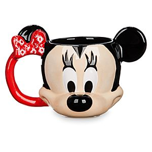 Minnie Mouse Sculptured Mug - Disney Cruise Line