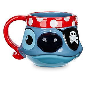 Stitch Sculptured Mug - Disney Cruise Line