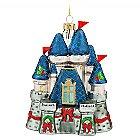 Fantasyland Castle Glass Ornament