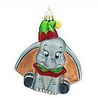 Dumbo Glass Ornament