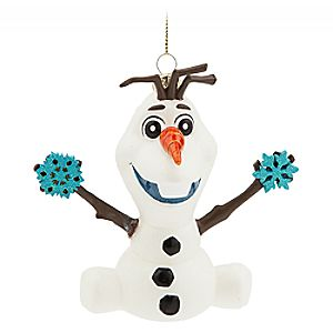 Olaf Glass Ornament