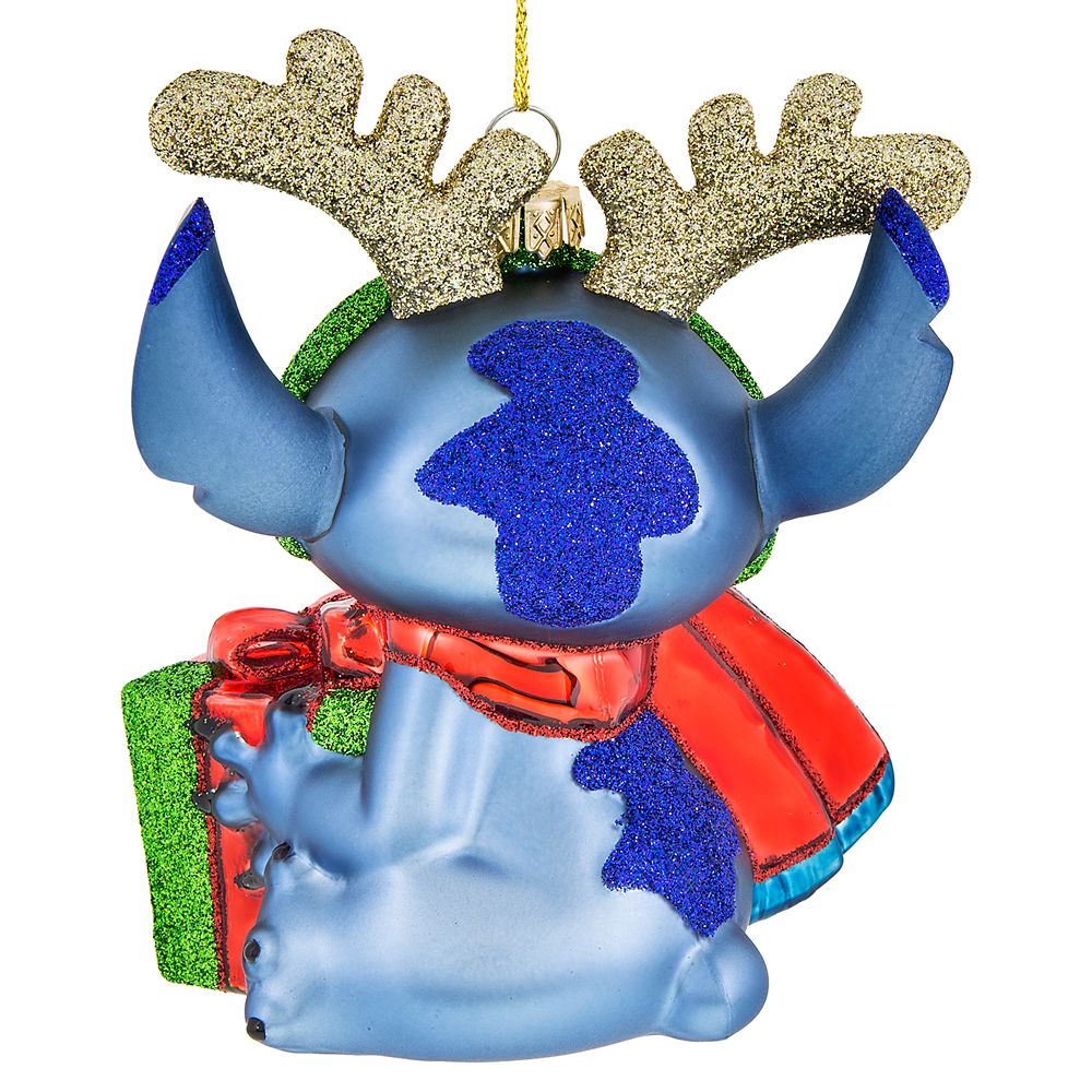 Stitch Glass Ornament