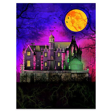Haunted Mansion Deluxe Print - Walt Disney World