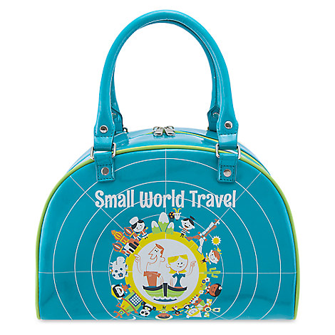 ''it's a small world'' Bowler Bag