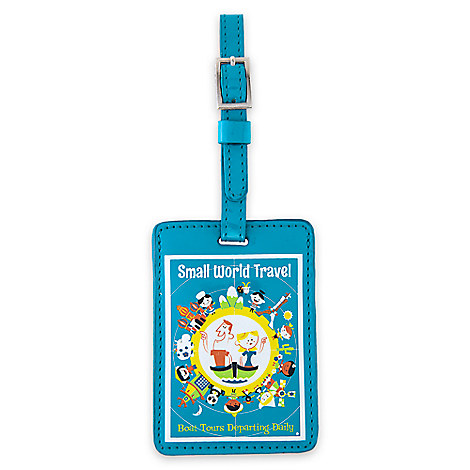 ''it's a small world'' Luggage Tag