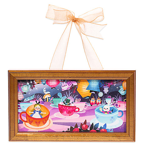 ''Mad Tea Party'' Framed Giclée by Joey Chou - Hanging Miniature