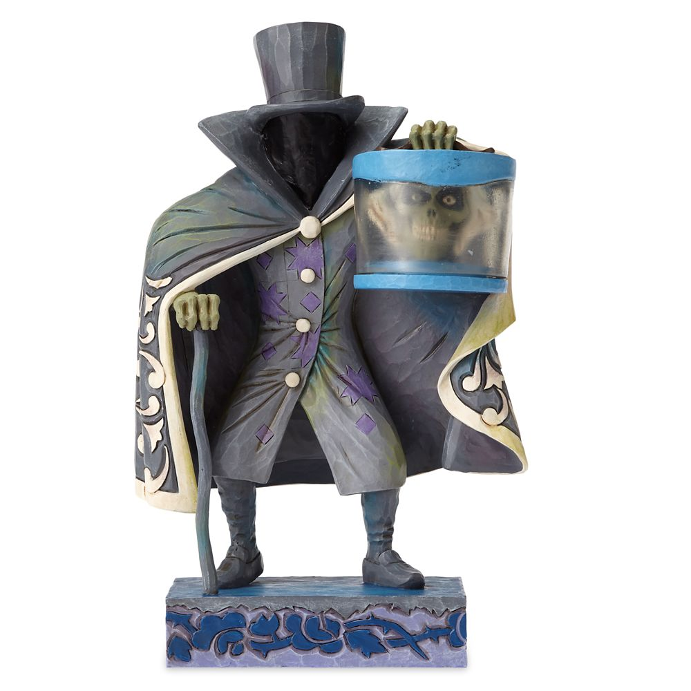 Hatbox Ghost Figure by Jim Shore Official shopDisney