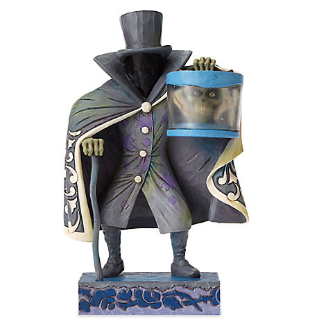 Hatbox Ghost Figure by Jim Shore
