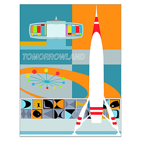 ''Tomorrowland'' Deluxe Print by Michael Murphy