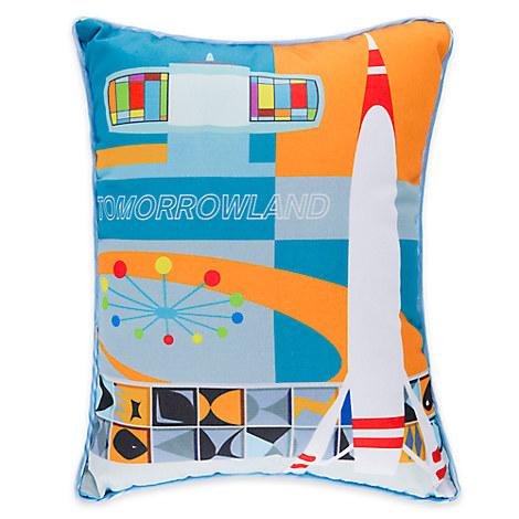 ''Tomorrowland'' Pillow by Michael Murphy
