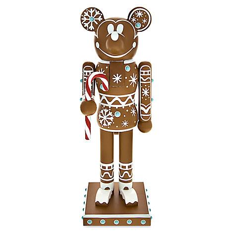 Mickey Mouse Gingerbread Man Nutcracker Figure - 14''