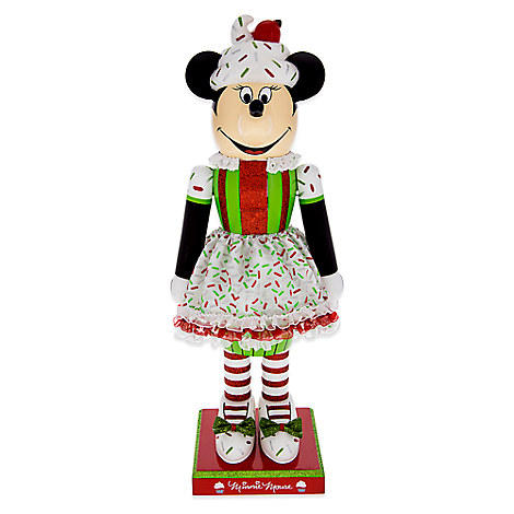 Minnie Mouse Cupcake Nutcracker Figure - 14''