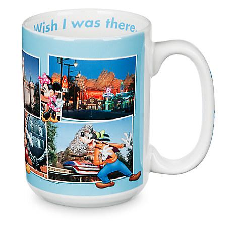 Disneyland Postcard Souvenir Mug
