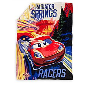 Radiator Springs Racers Fleece Throw - Cars